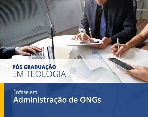 cursos de pos graduação administração de ongs