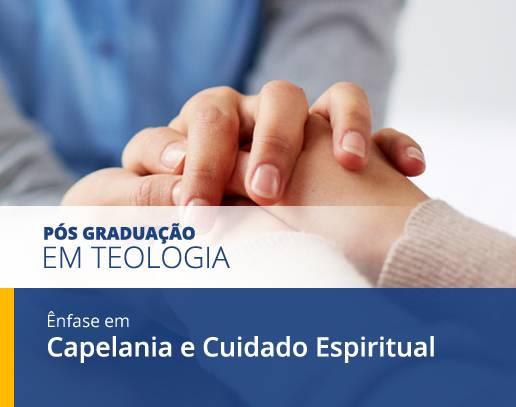 Cursos de PÓS Graduação Capelania e Cuidado Espiritual