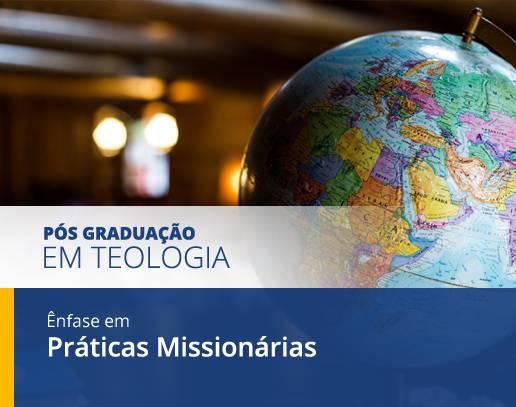 Cursos de Pós Graduação em Práticas Missionárias